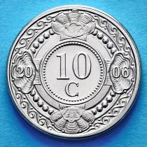 Нидерландские Антилы 10 центов 2006 год.
