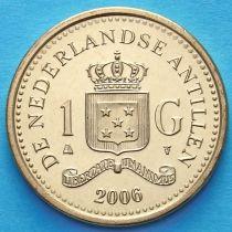 Нидерландские Антилы 1 гульден 2006 год.