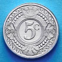 Нидерландские Антилы 5 центов 2006 год.