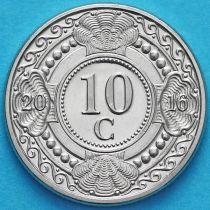 Нидерландские Антилы 10 центов 2016 год.