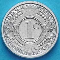 Нидерландские Антилы 1 цент 2016 год.