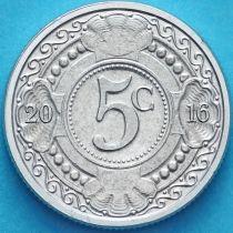 Нидерландские Антилы 5 центов 2016 год.
