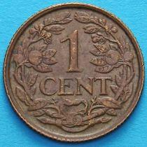 Нидерландские Антилы, Кюрасао 1 цент 1947 год.