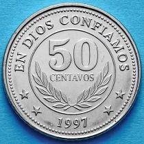 Никарагуа 50 сентаво 1997 год.