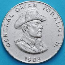 Панама 1 бальбоа 1983 год. Омар Торрихос