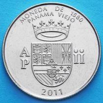 Панама 1/2 бальбоа 2011 год. Герб.