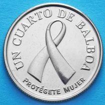 Панама 1/4 бальбоа 2008 год. Розовая ленточка.