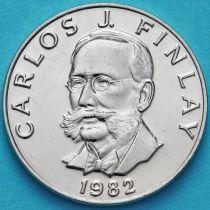 Панама 5 сентесимо 1982 год. Карлос Финлей.
