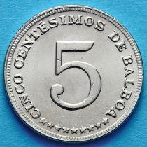 Панама 5 сентесимо 1983 год.