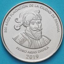 Панама 1/2 бальбоа 2019 год. 500 лет основанию Панамы.