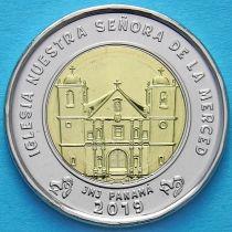 Панама 1 бальбоа 2019 год. Церковь Богоматери милосердия.