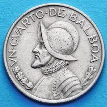 Панама 1/4 бальбоа 1980-1983 год.