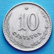 Парагвай 10 сентаво 1903 год. №2