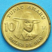 Перу 10 солей 1978 год.