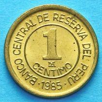Перу 1 сентимо 1985 год. Мигель Грау Семинарио.
