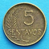 Перу 5 сентаво 1947-1962 год.