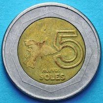 Перу 5 солей 1994 год.