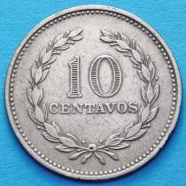 Сальвадор 10 сентаво 1975 год.