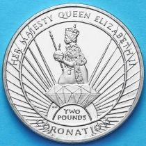 Южная Георгия и Южные Сэндвичевы Острова 2 фунта 2013 г. Коронация