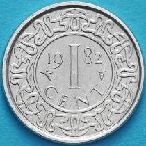 Суринам 1 цент 1979, 1982 год.
