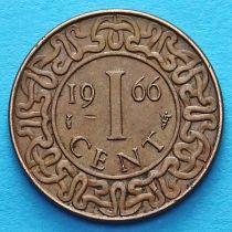 Суринам 1 цент 1962-1972 год.