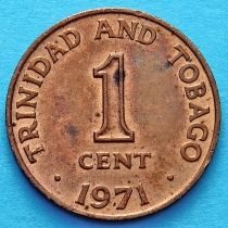 Тринидад и Тобаго 1 цент 1966-1973 год.