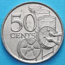 Тринидад и Тобаго 50 центов 1978 год.