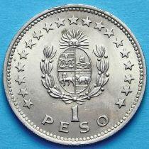 Уругвай 1 песо 1960 год. Хосе Хервасио Артигас