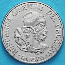 Уругвай 100 новых песо 1989 год. Гаучо.