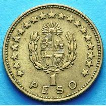 Уругвай 1 песо 1965 год.