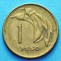 Уругвай 1 песо 1969 год.