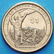 США 1 доллар 2015 год. Сакагавея. Мохоки.