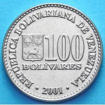 Венесуэла 100 боливар 2001-2004 год.