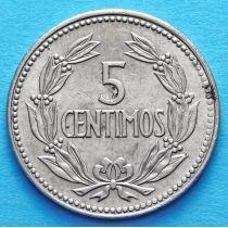 Венесуэла 5 сентимо 1964, 1965 год.
