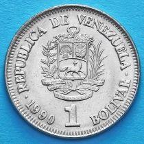 Венесуэла 1 боливар 1990 год. UNC.