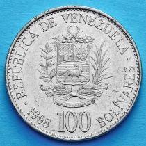 Венесуэла 100 боливар 1998-1999 год.