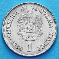 Венесуэла 1 боливар 1989, 1990 год.
