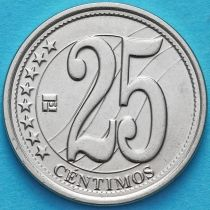Венесуэла 25 сентимо 2007-2009 год.
