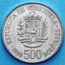 Венесуэла 500 боливар 1998 год.