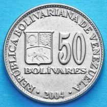 Венесуэла 50 боливар 2000-2004 год.
