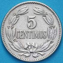 Венесуэла 5 сентимо 1958 год.