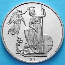 Британские Виргинские острова 1 доллар 2008 год. Британия.
