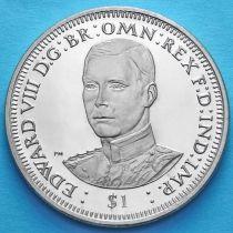 Британские Виргинские острова 1 доллар 2006 год. Эдвард VIII.