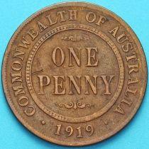Австралия 1 пенни 1919 год. №1