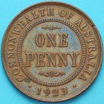 Австралия 1 пенни 1923 год.