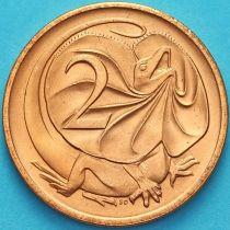 Австралия 2 цента 1984 год.