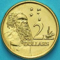 Австралия 2 доллара 2014 год. Абориген.