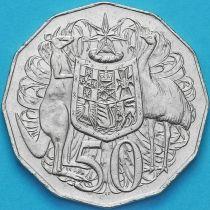 Австралия 50 центов 1999-2010 год.