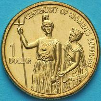 Австралия 1 доллар 2003 год. 100 лет избирательного права для женщин