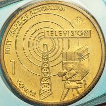 Австралия 1 доллар 2006 год. Телевидение. Сидней. S